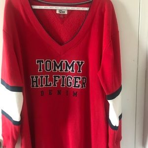 Tommy Sweater dress with Pockets
